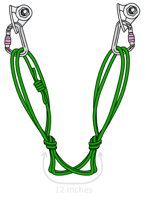 Climbing quad anchor