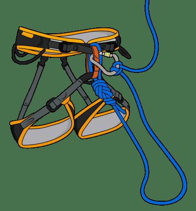 self rescue rope solo climbing