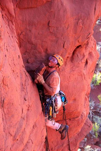 neil chelton fisher towers aid climbing