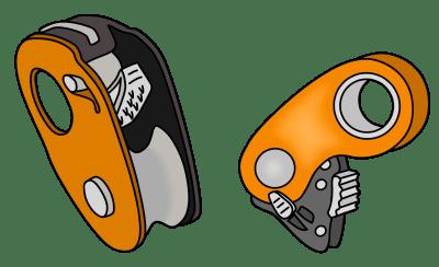 roll n lock petzl micro traxion