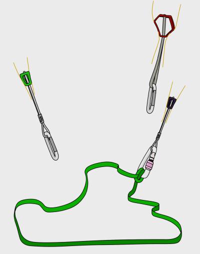 how to tie a sliding-x climbing anchor