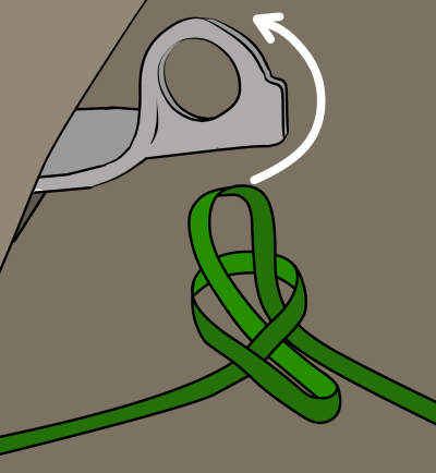 slip knot for climbing