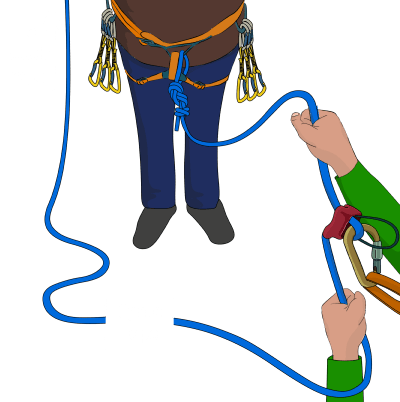 what to do when your climbing ropes are stuck