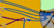 trad climbing anchors