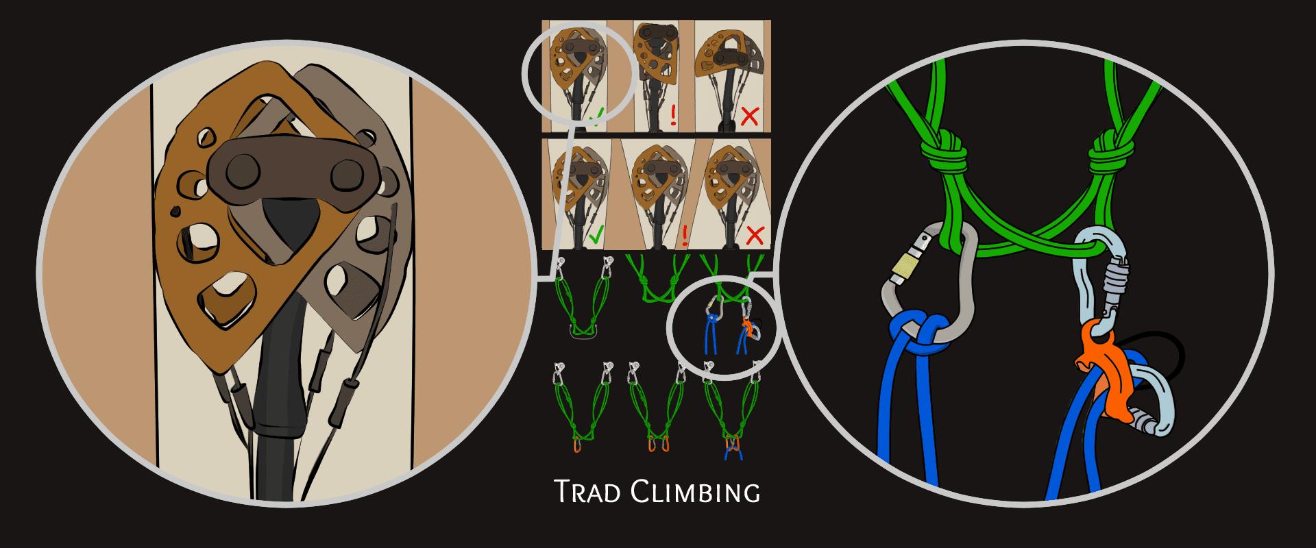 learn to trad climb