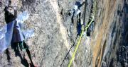 aid climbing skyhook