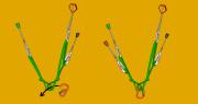 sliding x knot
