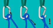 clove hitch climbing