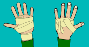 how to make tape gloves for crack climbing